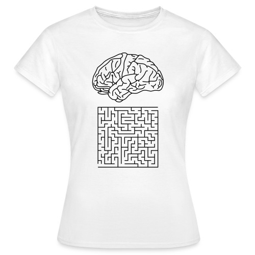 Labyrinth, Ws T-Shirt - Frauen T-Shirt