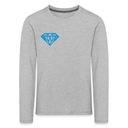 Diamond Long Sleeve Shirt  - Kids' Premium Longsleeve Shirt