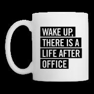 Tassen & Zubehör ~ Tasse ~ Tasse –WAKE UP