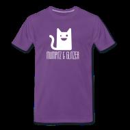 T-Shirts ~ Männer Premium T-Shirt ~ M&G Simple Vorn/Hinten