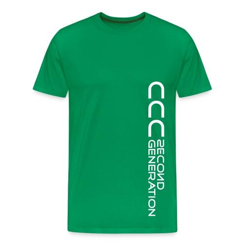 CCC 2nd weiß - Männer Premium T-Shirt