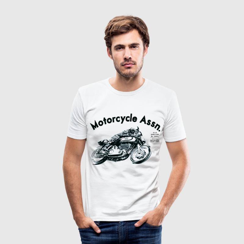 cafe racer shirt - Men's Slim Fit T-Shirt