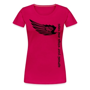 T-Shirt Spread your wings and vape Femme - T-shirt Premium Femme