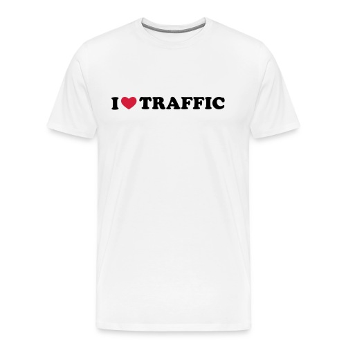 I Love Traffic - Männer Premium T-Shirt