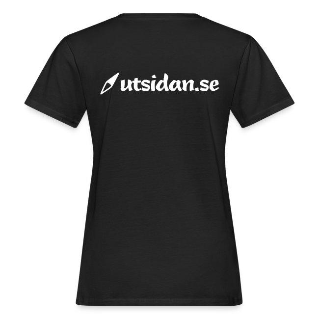 T-shirt dam - ekologisk bomull