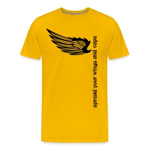 T-Shirt Spread your wings and vape Homme - T-shirt Premium Homme