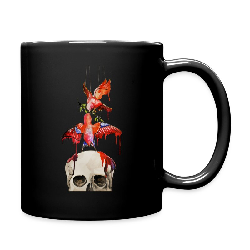 birds_spreadshirt - Tasse en couleur