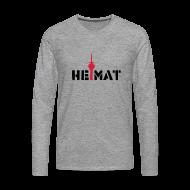 Langarmshirts ~ Männer Premium Langarmshirt ~ heimat