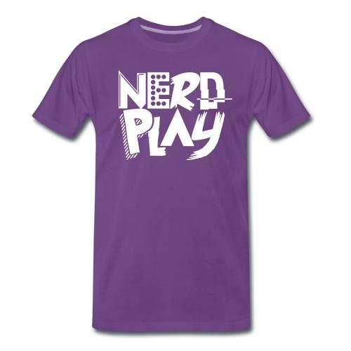 T-Shirt NerdPlay - Maglietta Premium da uomo