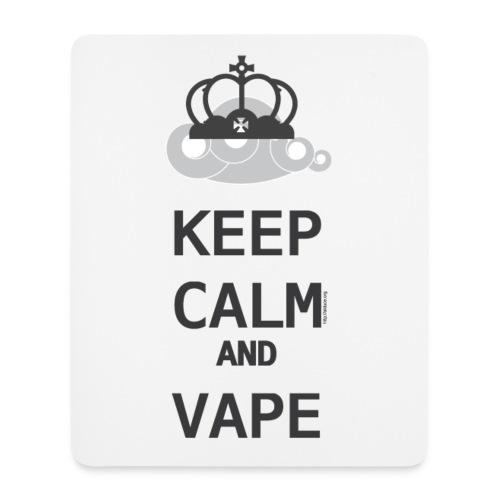 Tapis de souris Keep calm and vape - Tapis de souris (format portrait)