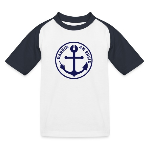 daheim am rhein - Kinder Baseball T-Shirt