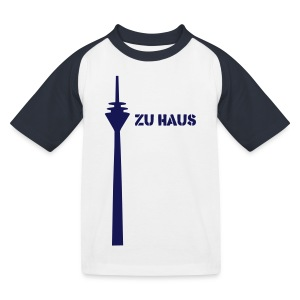 zu haus - Kinder Baseball T-Shirt