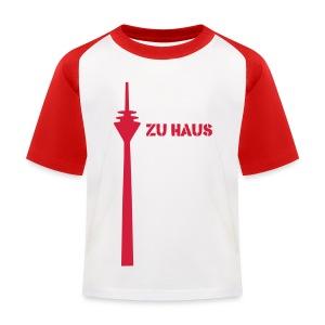 zu haus - Kinder Baseball T-Shirt