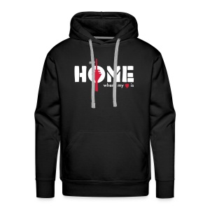 my home is where my heart is - Männer Premium Hoodie