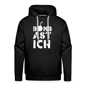 bombast ich - Männer Premium Hoodie