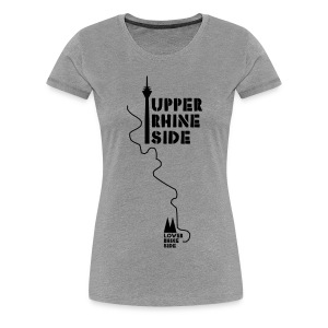 upper rhine side - Frauen Premium T-Shirt