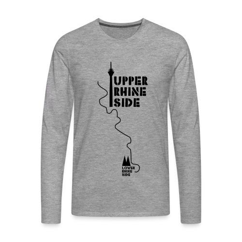 upper rhine side - Männer Premium Langarmshirt