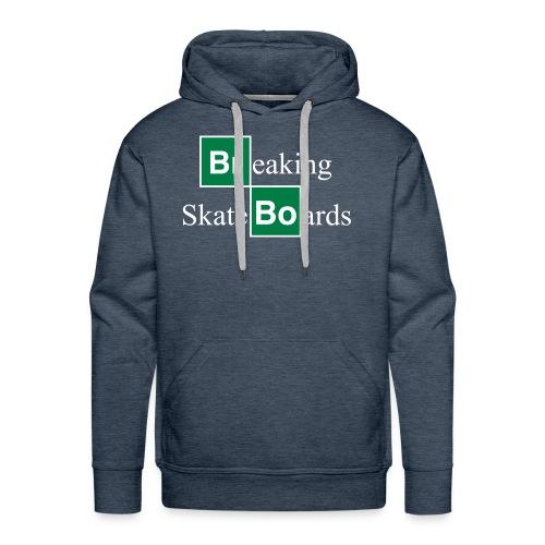 BREAKING SKATEBOARDS - Sweat-shirt à capuche Premium pour hommes