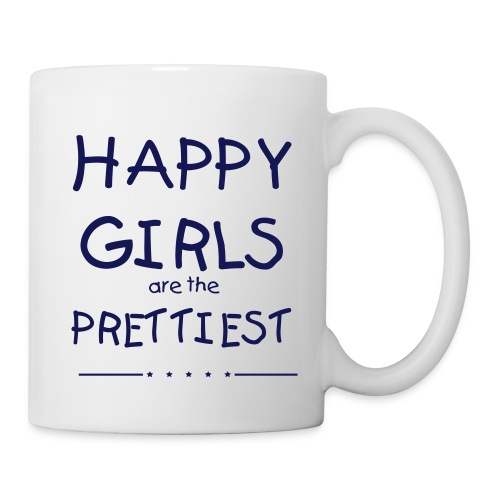 Kaffeebecher Happy Girls in navy - Tasse