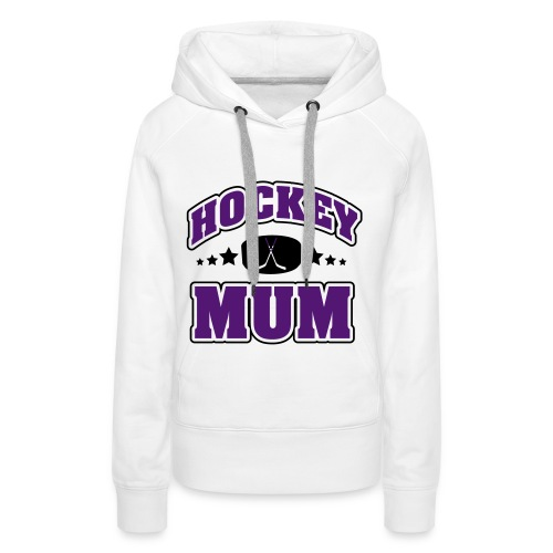 HOCKEY MUM - Premium hettegenser for kvinner