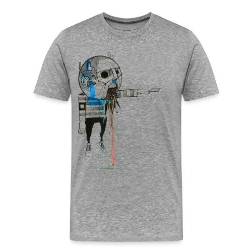 Male t-shirt, Ad Nauseam designed by Samy Lalmi - Men's Premium T-Shirt