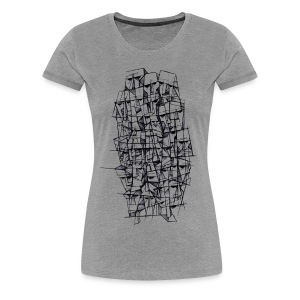Female t-shirt, Headz designed by Samy Lalmi - Women's Premium T-Shirt