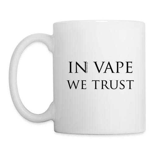 Mug 8x9.5 cm  in vape we trust - Mug blanc