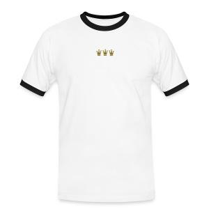 KoeGaeBloe – Kölsche gäge Blötschköpp - Männer Kontrast-T-Shirt