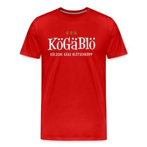 KoeGaeBloe – Kölsche gäge Blötschköpp - Männer Premium T-Shirt