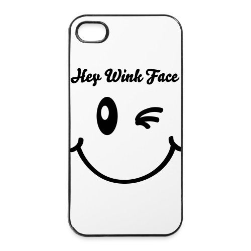 Hey Wink Face iPhone 5/5s - iPhone 4/4s Hard Case