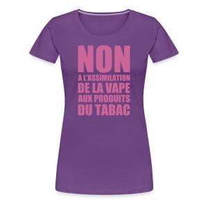 Non - T-shirt Premium Femme
