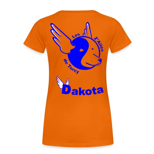 virginie + dakota - T-shirt Premium Femme