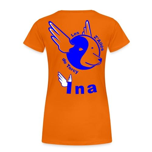 Laura + ina - T-shirt Premium Femme