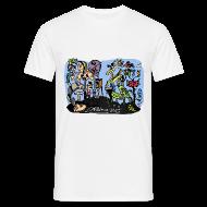 T-Shirts ~ Men's T-Shirt ~ Colour Doodle T-Shirt Sam Backhouse