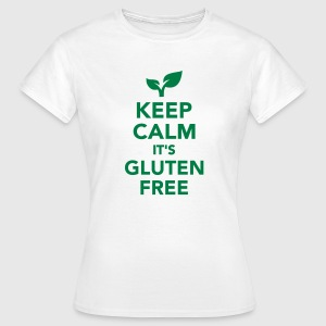 Keep calm it's gluten free T-Shirts - Frauen T-Shirt