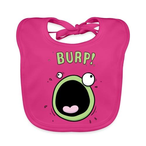 Baby Girls Burp Monster Bib - Baby Organic Bib
