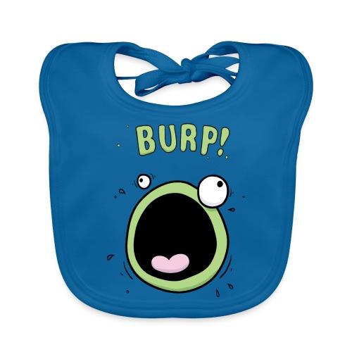 Baby Boys Burp Monster Bib - Baby Organic Bib