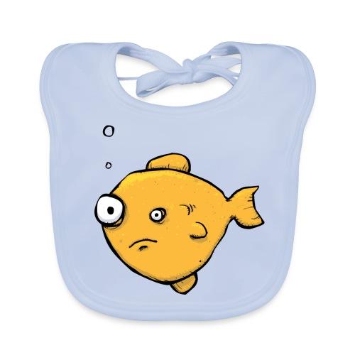 Strange Fishy Baby Bib - Baby Organic Bib