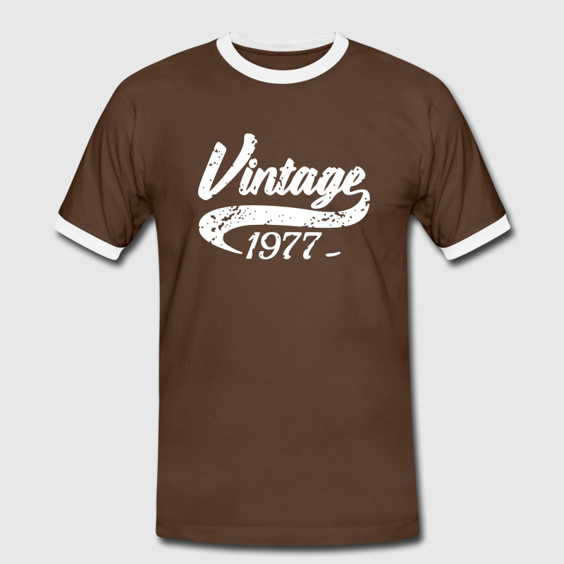 Vintage 1977 T-Shirts - Men's Ringer Shirt