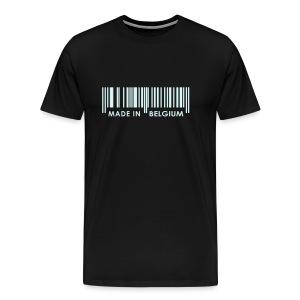Made In Belgium + Flag - T-shirt Premium Homme