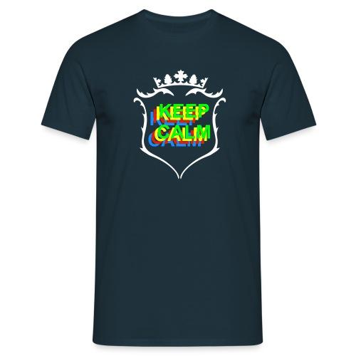 Keep calm Four Color - Men's T-Shirt