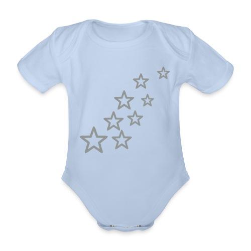 Body stelle - Body ecologico per neonato a manica corta