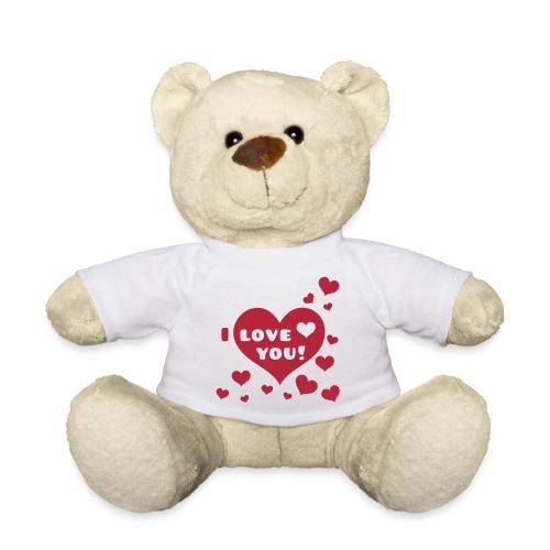 Valentinstag Geschenk I love you Bärchen - Teddy