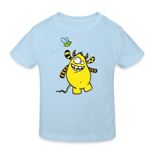 Mr Woolly Basic - Kinder Bio-T-Shirt