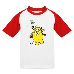 Mr Woolly Basic - Kinder Baseball T-Shirt
