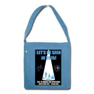 Let's be seen 2015 Designed by Caged Bird - Shoulder Bag made from recycled material
