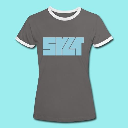 SCS   Shirt SYLT Block - Frauen Kontrast-T-Shirt
