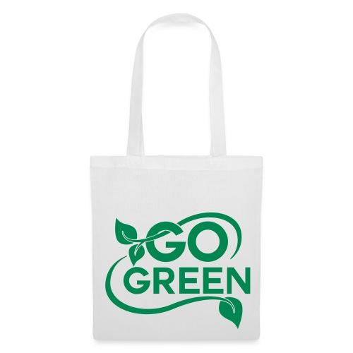 Go Green Tote Bag - Tote Bag