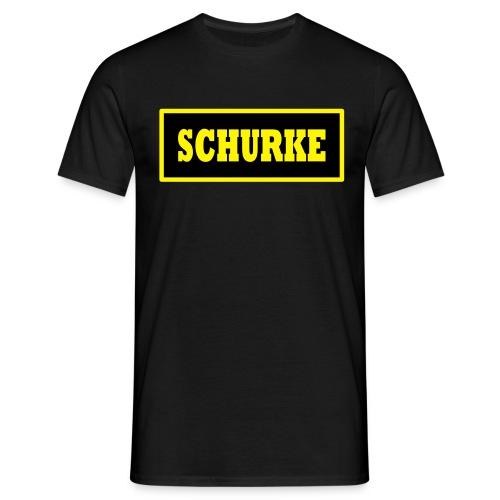 T-Shirt Schurke - Männer T-Shirt