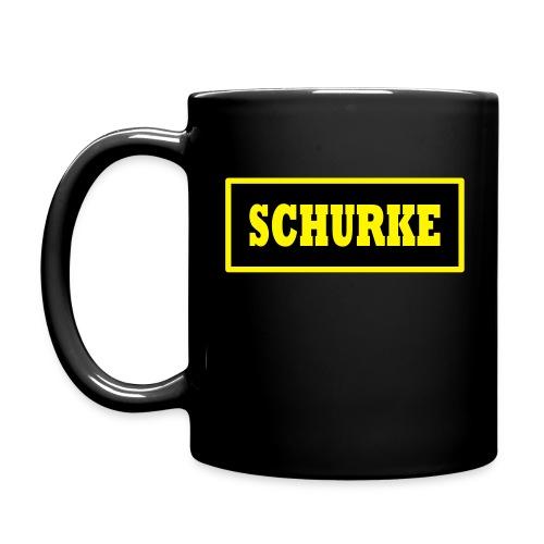 Becher Schurke - Tasse einfarbig